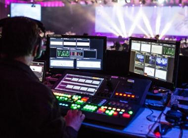 Vision Equipment, LCD Screens and Projector Hire