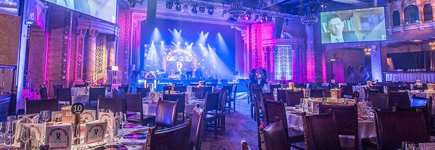 Three ways to use event design to enhance your gala dinner