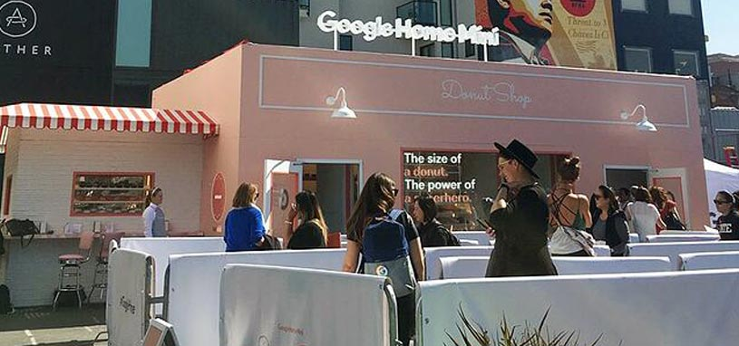 google home mini brand activation
