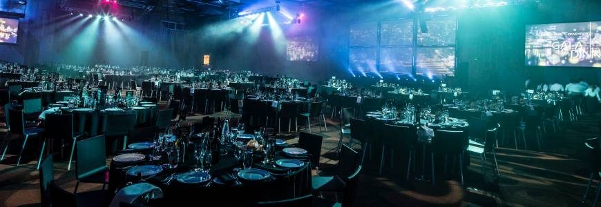 How to organise a gorgeous gala dinner